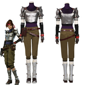 Final Fantasy VII Remake-Jessie Jumpsuit Outfits Halloween Carnival Suit Cosplay Costume