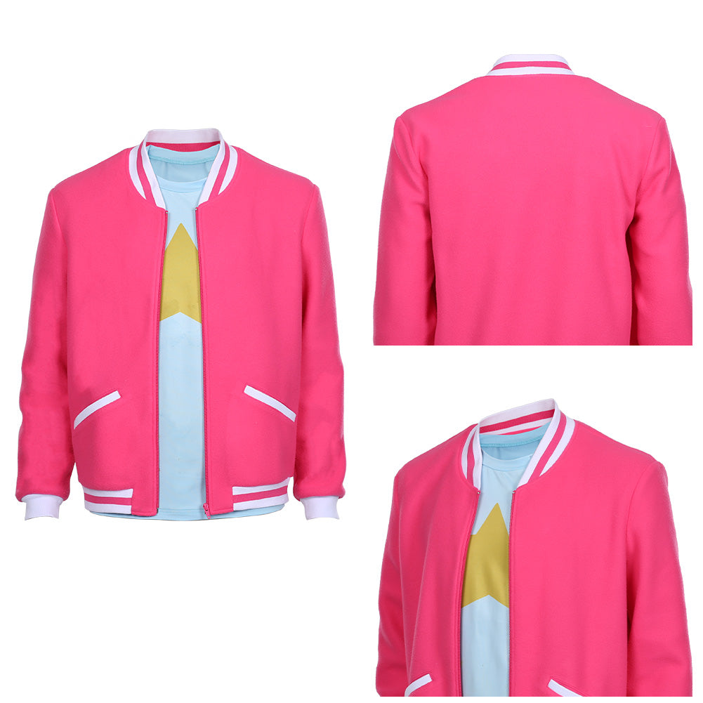 Details about  /The Movie Steven Universe Pink Jacket Leading Man Cosplay Costume Unisex