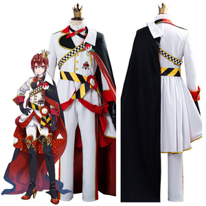 Twisted Wonderland Riddle Rosehearts Cosplay Costume