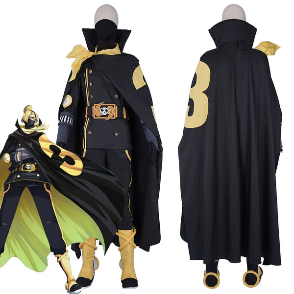 ONE PIECE Vinsmoke Family Combat Suit-Vinsmoke Sanji Halloween Carnival Outfit Cosplay Costume