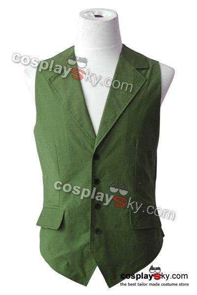 Batman Dark Knight Joker Green Vest Costume Halloween Cosplay