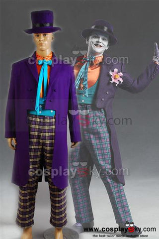 Batman Joker Jack Nicholson Outfits Costume