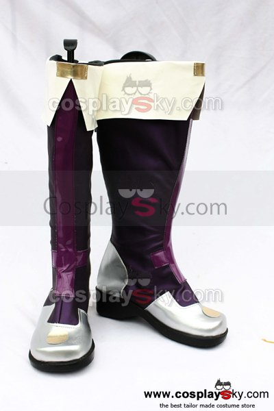 Blazblue Carl Clover Cosplay Boots Shoes