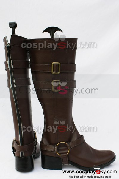 Blue Exorcist Ao no Exorcist Mephistopheles Cosplay Boots