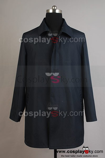 Broadchurch Alec Hardy Trench Coat Costume
