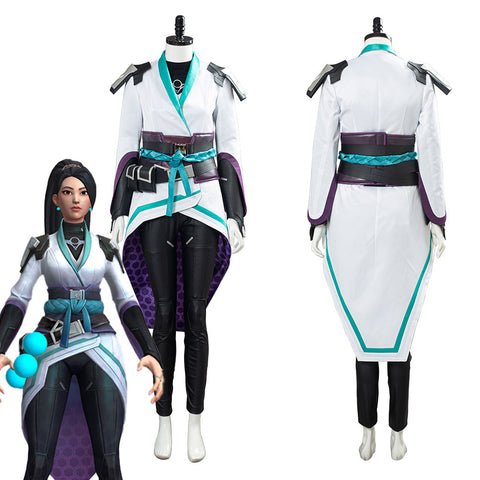 Game Valorant Sage Halloween Carnival Uniform Cosplay Costume