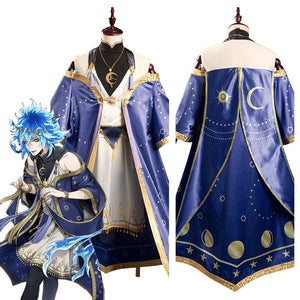 Game Twisted-Wonderland Deuce/Idia/Trey Dress Vest Outfits Halloween Carnival Suit Cosplay Costume
