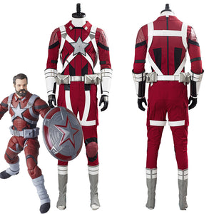 2020 Black Widow Red Guardian Alexi Men Outfits Halloween Carnival Costume Cosplay Costume