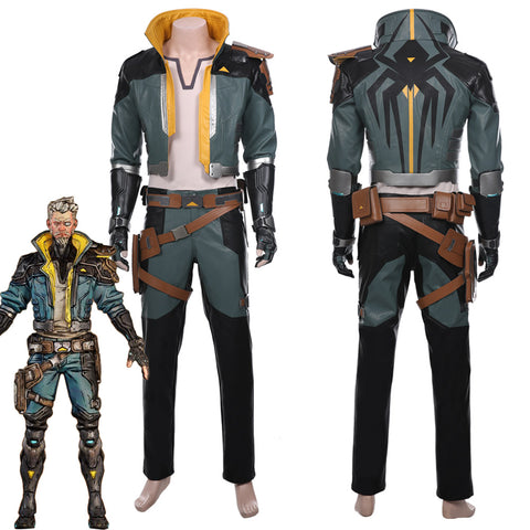 Borderlands 3 Zane Uniform Cosplay Costume
