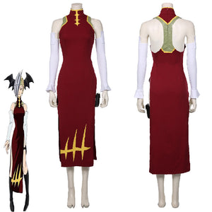 My Hero Academia Dragon Hero Ryuko Tatsuma Fancy Cheongsam Suit Dress Cosplay Costume