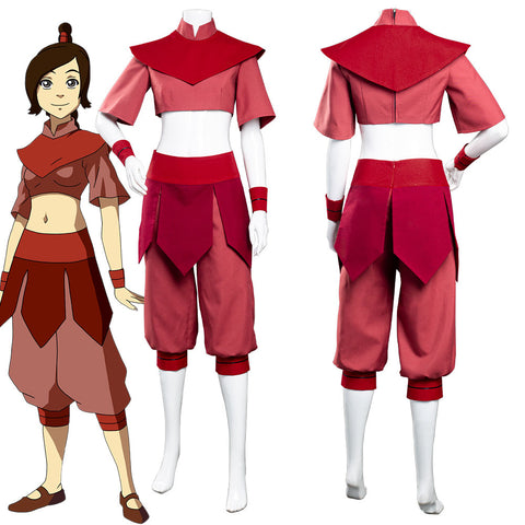 Avatar: The Last Airbender Ty Lee Jumpsuit Outfits Halloween Carnival Suit Cosplay Costume