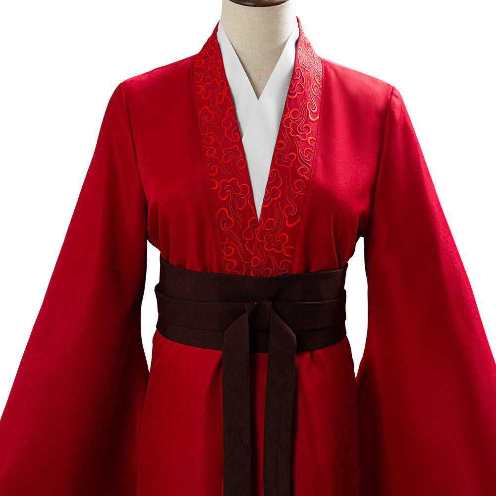 2020 Movie Mulan Womens Garments Mulan Hanfu Cosplay Costume New Cosplaysky