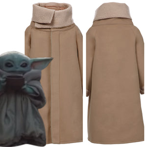 Star Wars The Mandalorian Baby Yoda Uniform For Adult Cosplay Costume