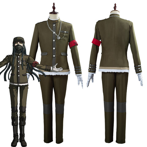 Danganronpa V3 Korekiyo Shinguji Men Uniform Outfit Halloween Carnival Costume Cosplay Costume