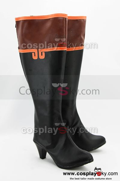 Code Geass Chinese Federation Cosplay Boots Shoes