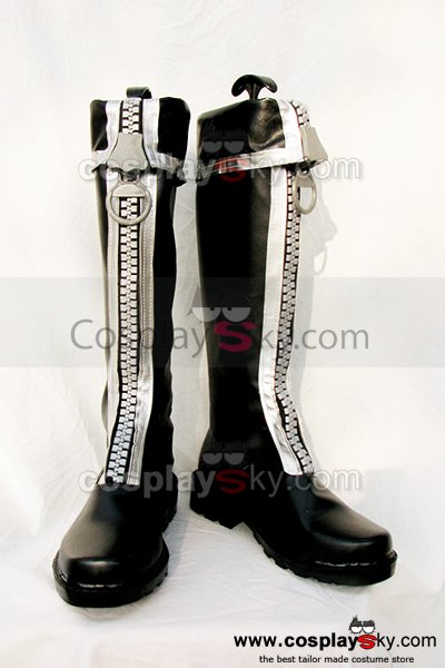 D.Gray-man Allen Walker Cosplay Boots Shoes Custom Made
