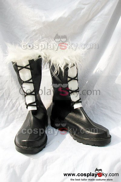 D.Gray-man Cosplay Boots Shoes Black
