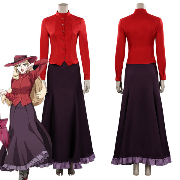 Joran The Princess of Snow and Blood Elena Hanakaze Cosplay Costume Halloween Carnival Suit