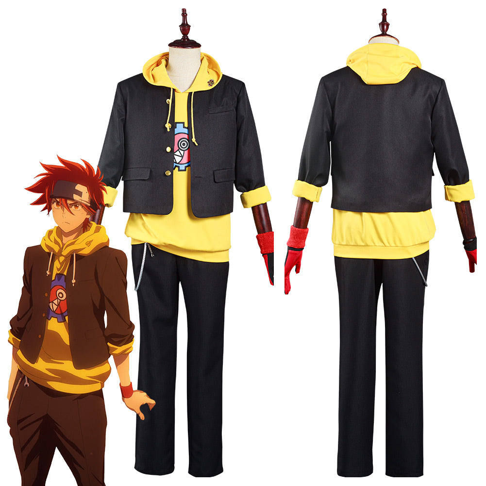 SK8 the Infinity Reki Coat Pants Outfits Halloween Carnival Suit Cosplay Costume