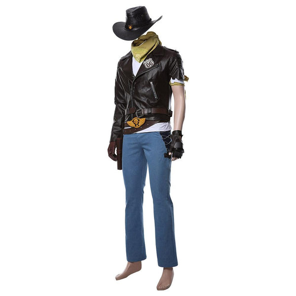 Overwatch Jesse Mccree Cosplay Costume