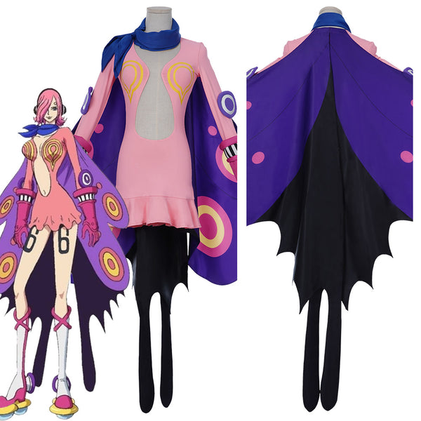 ONE PIECE Vinsmoke Family Combat suit-Vinsmoke Reiju Halloween Carnival Outfit Cosplay Costume