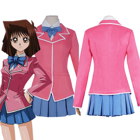 Yu-Gi-Oh! Masaki Kyoko Uniform Dress Outfits Halloween Carnival Suit Cosplay Costume