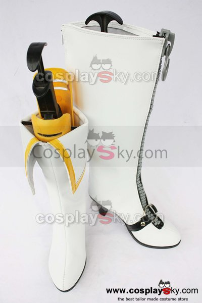 Digital Monster Angewomon Cosplay Boots Shoes