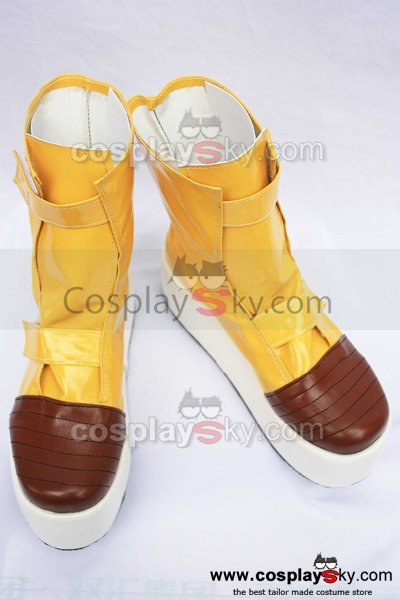 Dragon Ball Z Trunks Cosplay Boots Shoes Custom Made