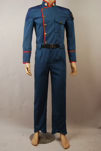 Battlestar Galactica William Adama Jacket Pants Uniform Costume