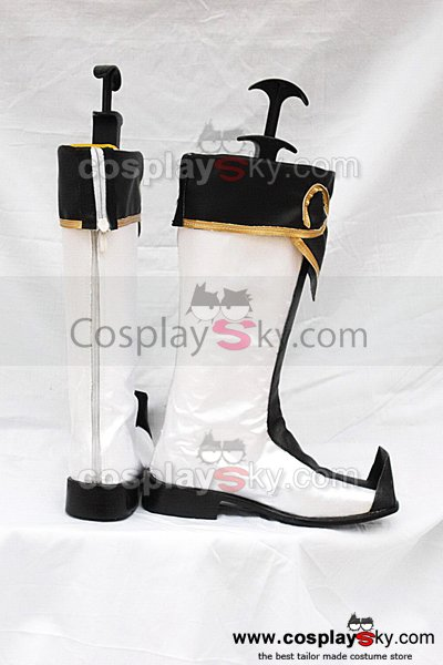 Dynasty Warriors 5 Zhu Geliang Cosplay Boots