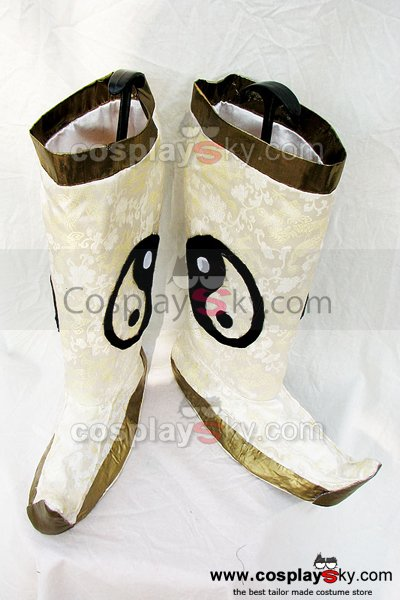 Dynasty Warriors Zhuge Liang Cosplay Boots Custom Made