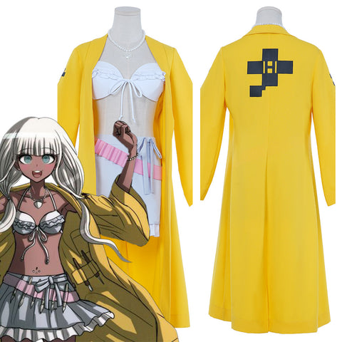 Danganronpa V3: Killing Harmony-Yonaga Angie Coat Belt Outfits Halloween Carnival Suit Cosplay Costume
