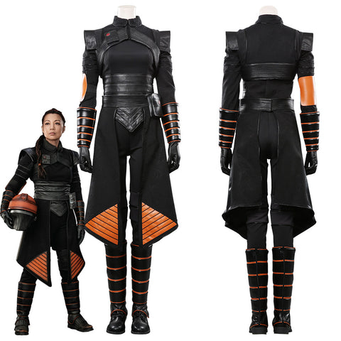 Star Wars Mandalorian-Fennec Shand Outfits Halloween Carnival Costume Cosplay Costume