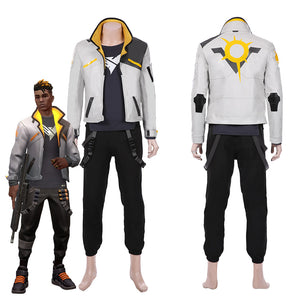 Game Valorant-Phoenix Men Jacket Pants Suit Halloween Carnival Outfit Cosplay Costume