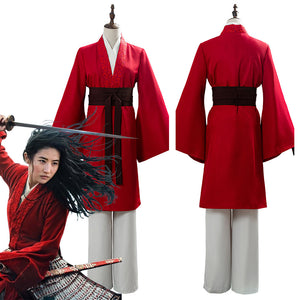 2020 Movie Mulan Womens Garments Mulan Hanfu Cosplay Costume