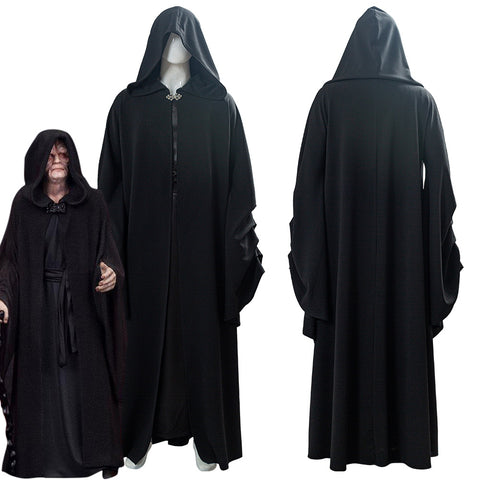 Star Wars 9 : The Rise Of Skywalker Darth Sidious Sheev Palpatine Cosplay Costume