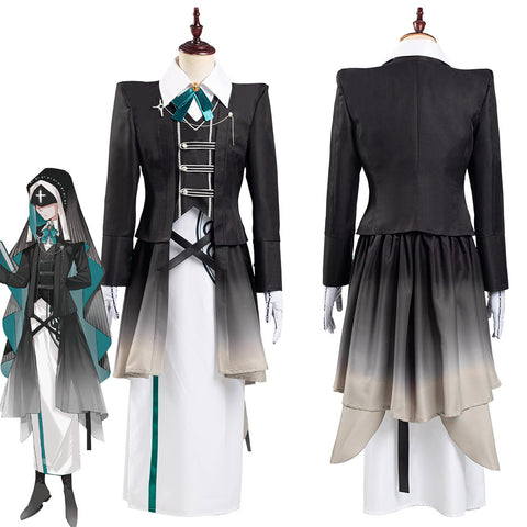 Game Identity V Scryer Eli Clark Coat Dress Outffits Halloween Carnival Suit Cosplay Costume
