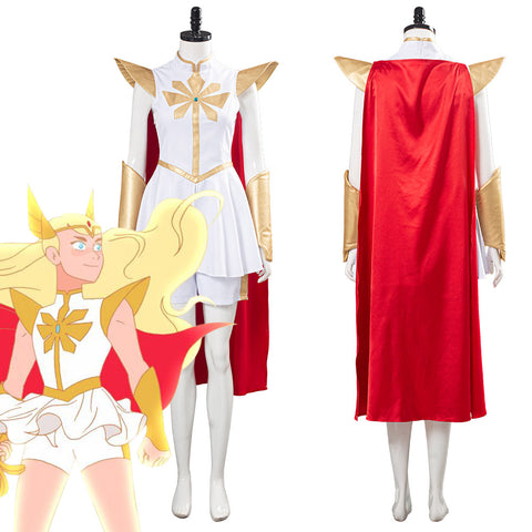 She-Ra - Princess of Power She Ra Women Dress Outfits Halloween Carnival Costume Cosplay Costume