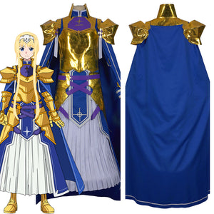 Sword Art Online Alicization SAO Alice Synthesis Thirty Women Knights Outfit Halloween Carnival Costume Cosplay Costume