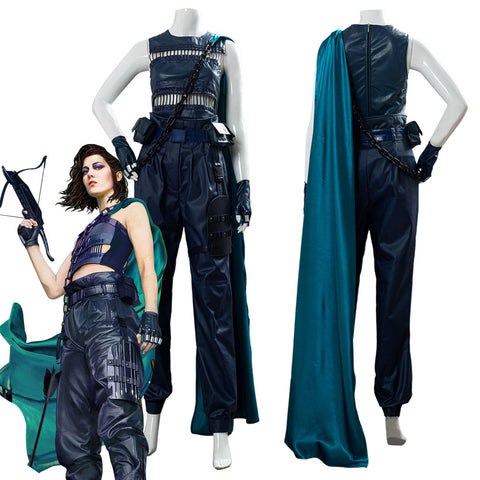 Birds of Prey Huntress Outfit Cosplay Costume
