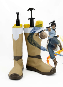 The Legend of Korra Korra Halloween Boots Cosplay Shoes