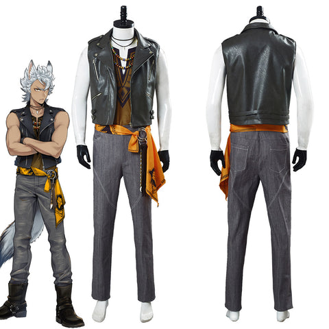 Game Twisted Wonderland Jack Howl Halloween Outfit Cosplay Costume