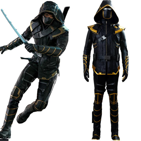 Avengers 4 Endgame Hawkeye Ronin Outfit Cosplay Costume