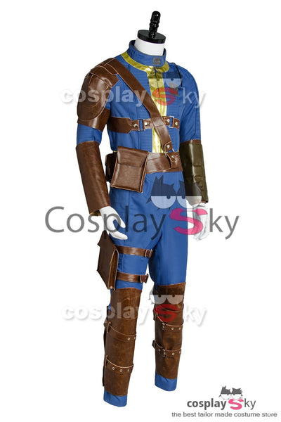 Fallout 4 FO Nate Vault #111 Outfit Jumpsuit Uniform Cosplay Costume