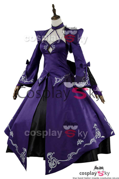 Fate Grand Order FGO Saber Alter Stage 3 Dress Cosplay Costume