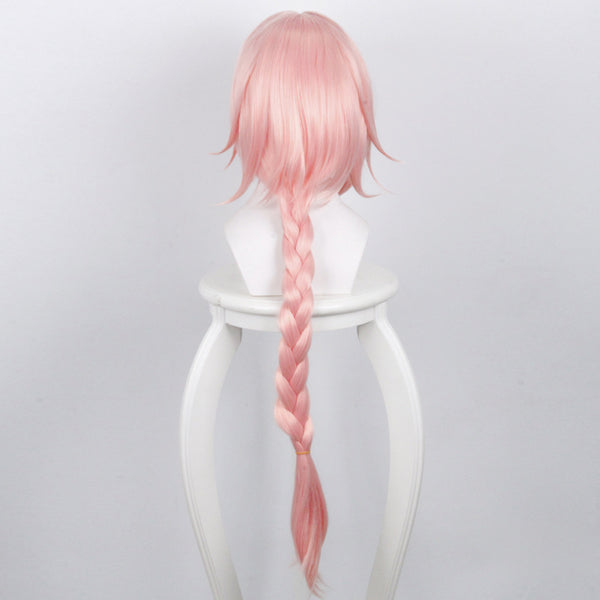 Fate/Apocrypha FA Rider Astolfo Pink Wig Cosplay Wigs