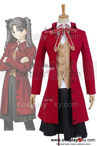 Fate/stay night Rin T?saka Uniform Outfit Cosplay Costume