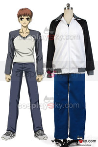 Fate/stay night Shir? Emiya Sports Coat Pants Outfit Cosplay Costume