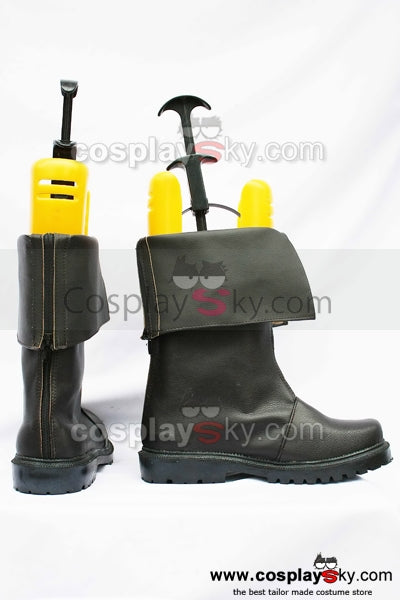 FF 9 Dissidia 012: Duodecim Final Fantasy Cloud Cosplay Boots