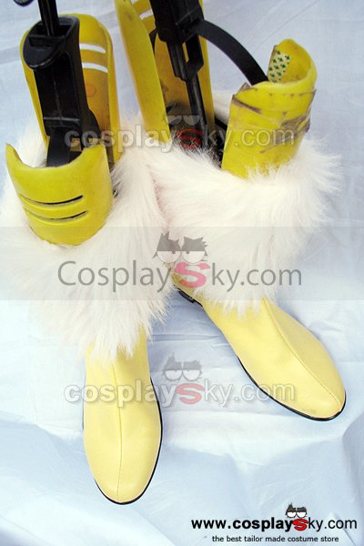 Final Fantasy 13 Vanille Cosplay Boots Shoes